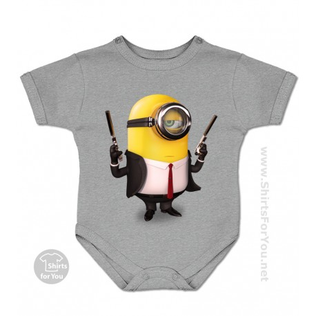 Hitman Minion Baby Onesie