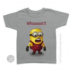 Minion Whaaaat Kids T-Shirt