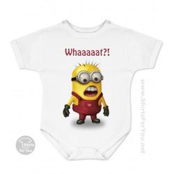 Minion Whaaaat Baby Onesie