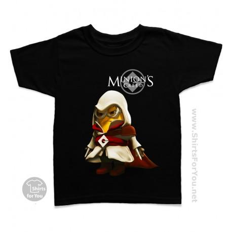 Minion Creed Kids T-Shirt