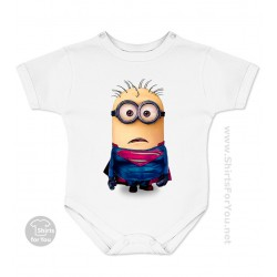 Superman Minion Baby Onesie