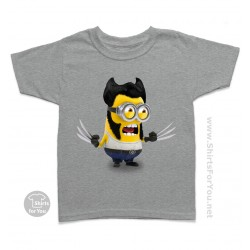 Wolverine Minion Kids T-Shirt