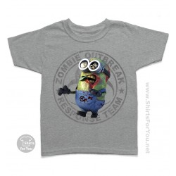 Minion Zombie Kids T-Shirt