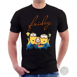 Minions Friday Unisex T-Shirt