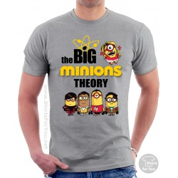 The Big Minions Theory Unisex T-Shirt
