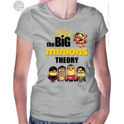 The Big Minions Theory Womens T-Shirt