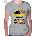 The Big Minions Theory Womens T-Shirt