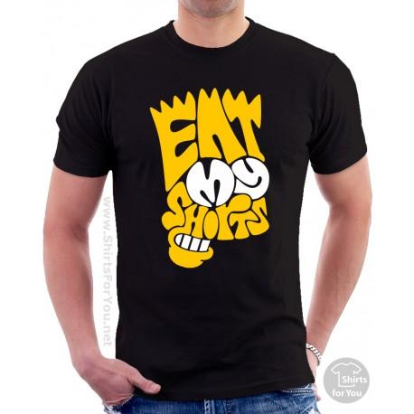 bd0c1e99 Eat My Shorts Bart Simpson Unisex T-Shirt