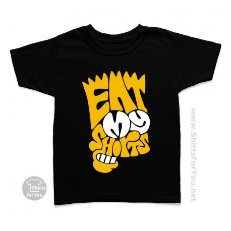 Eat My Shorts Bart Simpson Kids T-Shirt