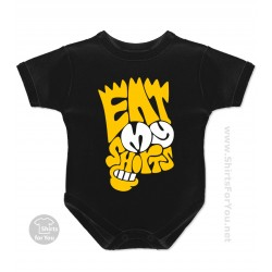 Eat My Shorts Bart Simpson Baby Onesie