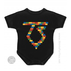 Lego Twisted Sister Baby Onesie