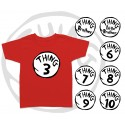 Thing 1 and Thing 2 Kids T-Shirt