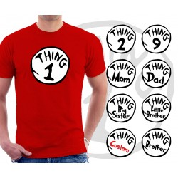 Thing 1 and Thing 2 Unisex T-Shirt