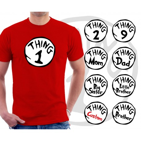 Thing 1 and Thing 2 Unisex T-Shirt 67b1d8fd3468