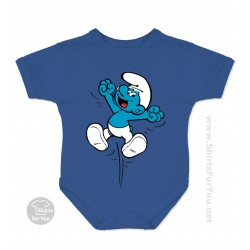 The Smurf Baby Onesie