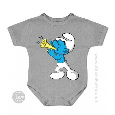 Harmony Smurf The Smurfs Baby Onesie