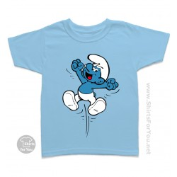 The Smurf Kids T-Shirt