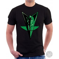 Green Arrow Bow Unisex T-Shirt
