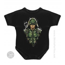 Green Arrow Baby Onesie