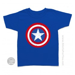 Captain America Kids T Shirt