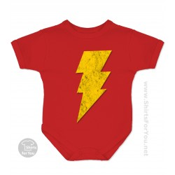 Captain Marvel Baby Onesie