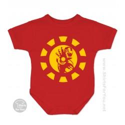 Iron Man Baby Onesie