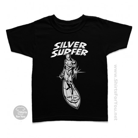 Silver Surfer Kids T Shirt