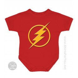 The Flash Baby Onesie