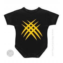 Wolverine Baby Onesie