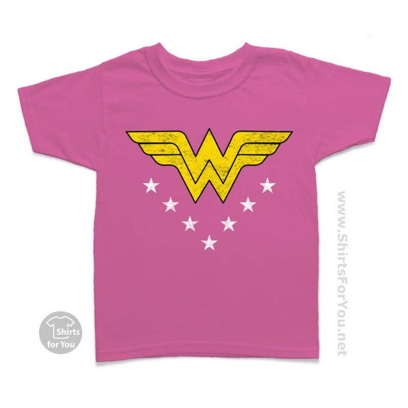 Wonder Woman Kids T Shirt