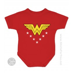 Wonder Woman Baby Onesie