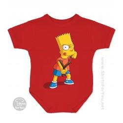 Bart Simpson Baby Onesie