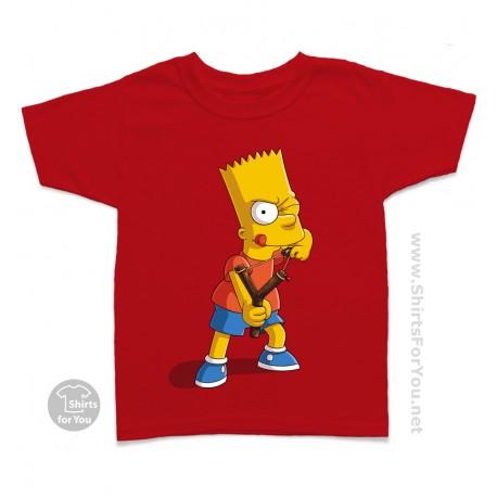Bart Simpson Kids T-Shirt