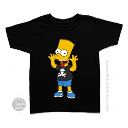 Bart Simpson Kids T Shirt