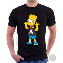 Bart Simpson Unisex T Shirt