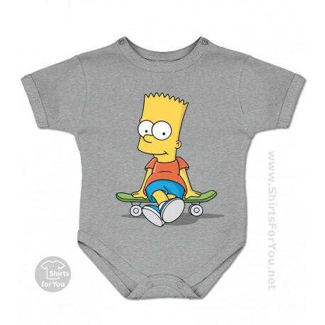 Bart Simpson Baby Bodysuit