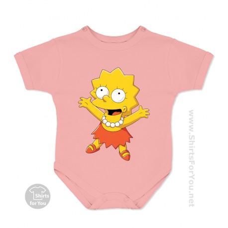 Lisa Simpson Baby Onesie