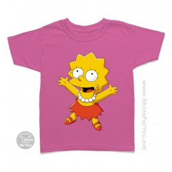 Lisa Simpson Kids T Shirt