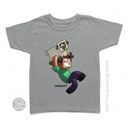 Minecraft Mineplex Sheep Quest Kids T-Shirt