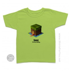 Minecraft Shhh Kids T-Shirt