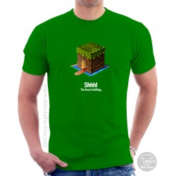 Minecraft Shhh Unisex T-Shirt