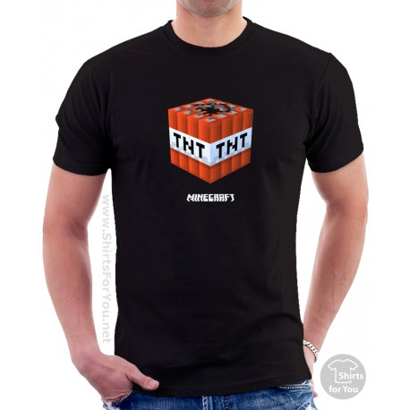 Minecraft TNT T Shirt
