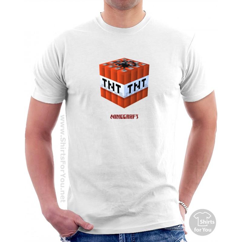Minecraft Tnt T Shirt