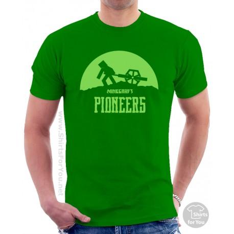 Minecraft Pioneers T Shirt