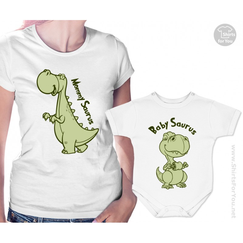 """The set comes with a fun shirt for dad and a matching """"adorable baby"""" shirt or bodysuit for his precious child. New mommies especially love presenting this """"adorable"""" set to daddy on his very first Father's Day!"""
