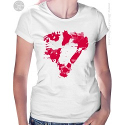 Enrique Iglesias Heart Womens T-Shirt