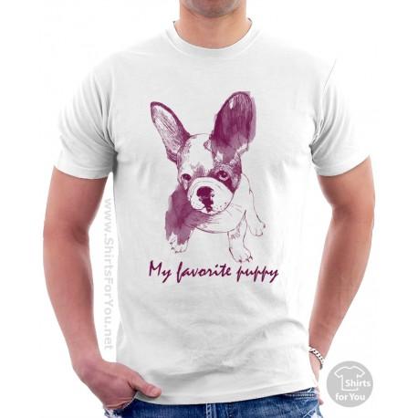 My Favorite Puppy T Shirt