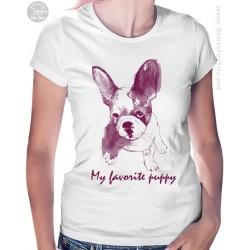 My Favorite Puppy Womens T Shirt