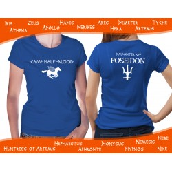Camp Half-Blood Blue Womens T-Shirt