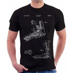 Drum Beater Patent T-Shirt